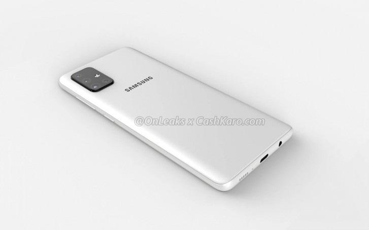 Lo-anh-concept-cua-Samsung-Galaxy-A71-voi-cum-camera-sau-hinh-chu-L 2