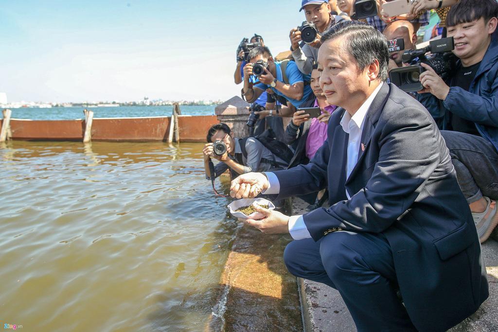 'Việc thí điểm công nghệ Nhật trên sông Tô Lịch đã thất bại' - Ảnh 2.