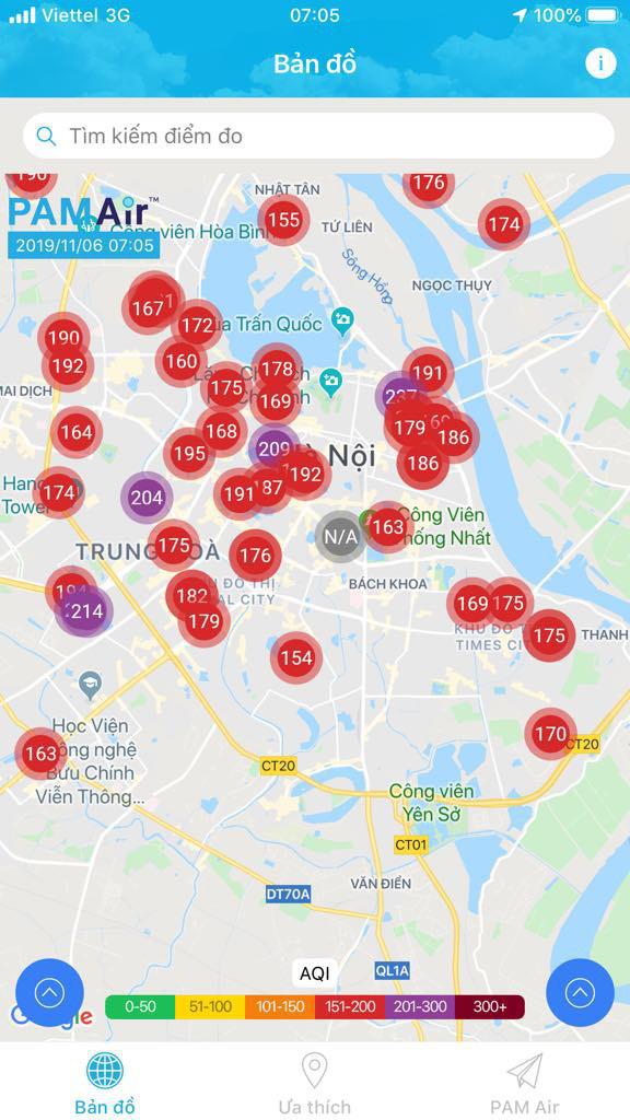 Ô nhiễm không khí Hà Nội đặc biệt nghiêm trọng vào sáng nay - Ảnh 2.