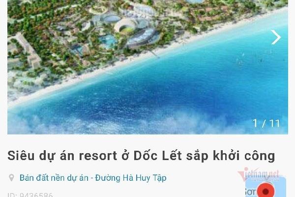 Khánh Hòa: Lộ thêm 7 dự án 'ma' đình đám - Ảnh 1.