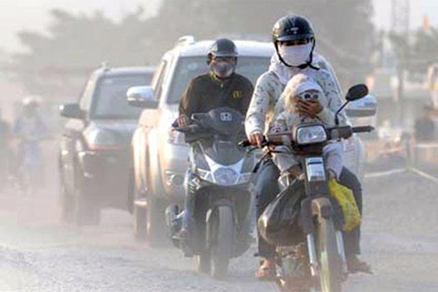 Ô nhiễm bụi mịn ở đô thị: Hà Nội cao nhất, Huế thấp nhất - Ảnh 1.