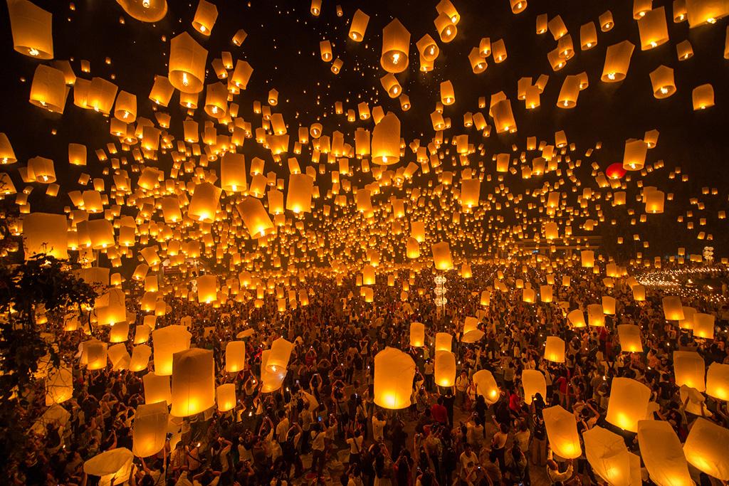 le hoi tha den troi tai Chiang Mai (9)