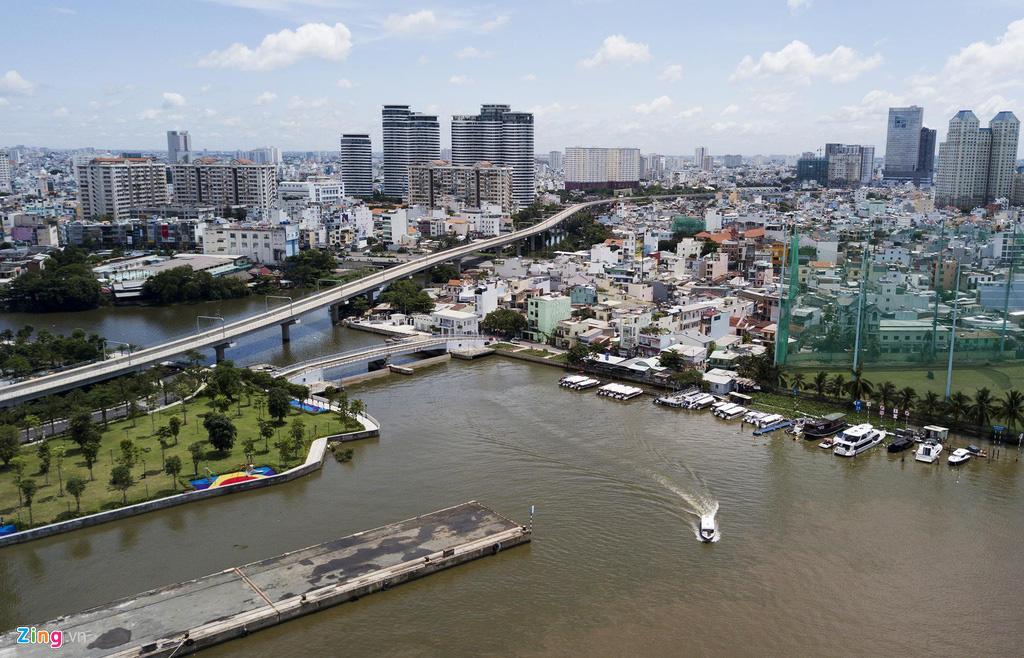 Đường ven sông trung tâm Sài Gòn sau 3 năm thay đổi qui hoạch - Ảnh 10.