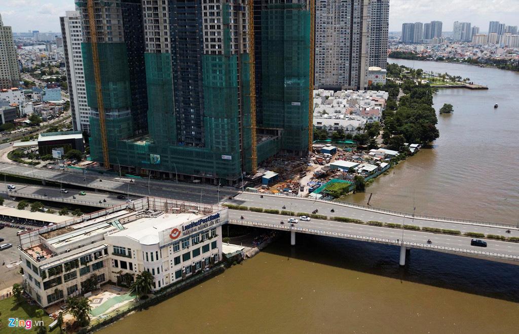Đường ven sông trung tâm Sài Gòn sau 3 năm thay đổi qui hoạch - Ảnh 12.