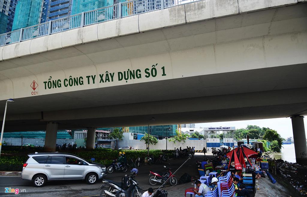 Đường ven sông trung tâm Sài Gòn sau 3 năm thay đổi qui hoạch - Ảnh 14.
