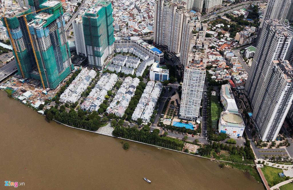 Đường ven sông trung tâm Sài Gòn sau 3 năm thay đổi qui hoạch - Ảnh 15.