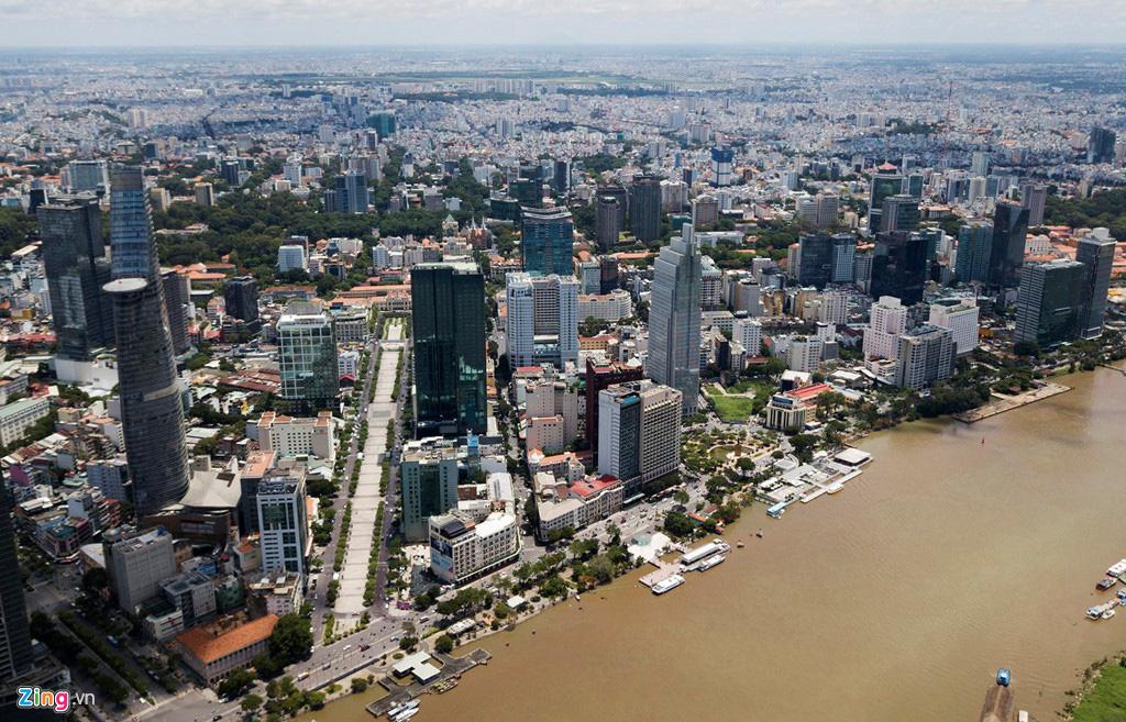 Đường ven sông trung tâm Sài Gòn sau 3 năm thay đổi qui hoạch - Ảnh 3.