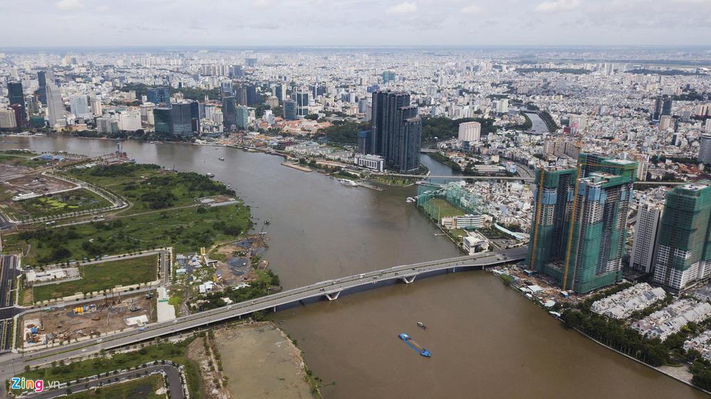 Đường ven sông trung tâm Sài Gòn sau 3 năm thay đổi qui hoạch - Ảnh 4.