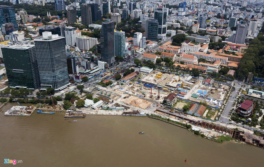 Đường ven sông trung tâm Sài Gòn sau 3 năm thay đổi qui hoạch - Ảnh 5.