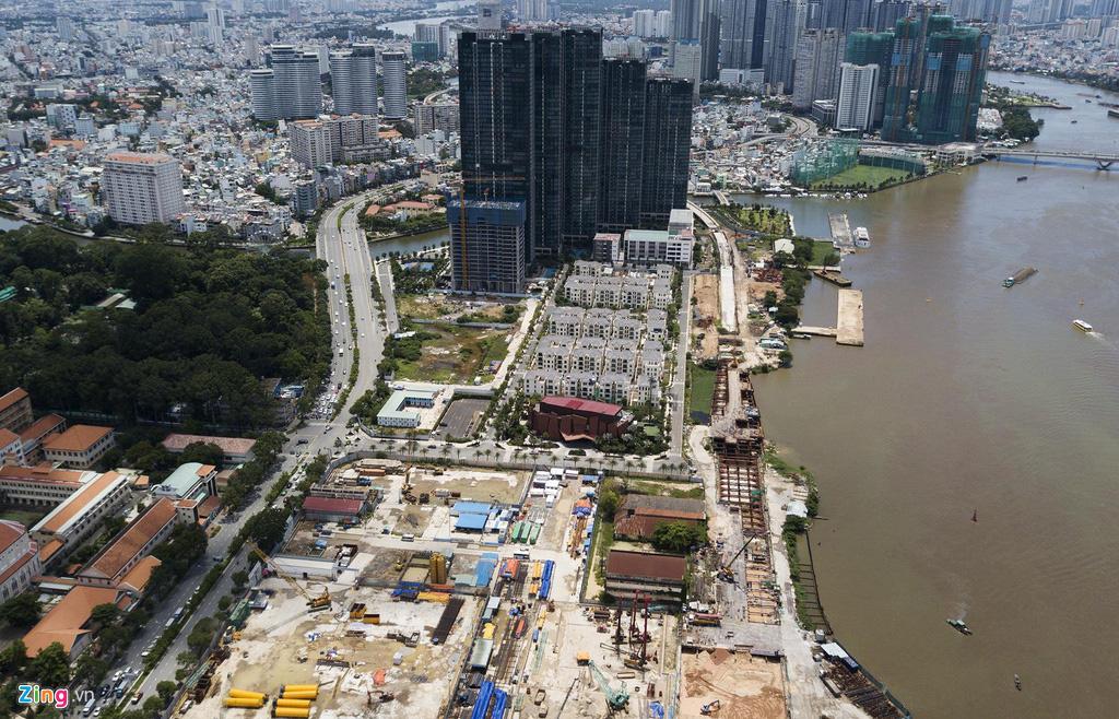 Đường ven sông trung tâm Sài Gòn sau 3 năm thay đổi qui hoạch - Ảnh 6.
