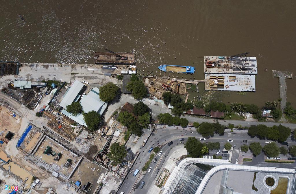 Đường ven sông trung tâm Sài Gòn sau 3 năm thay đổi qui hoạch - Ảnh 7.