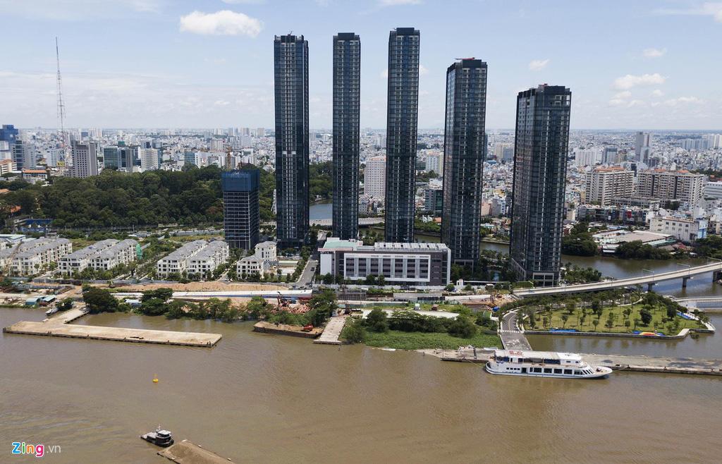 Đường ven sông trung tâm Sài Gòn sau 3 năm thay đổi qui hoạch - Ảnh 9.