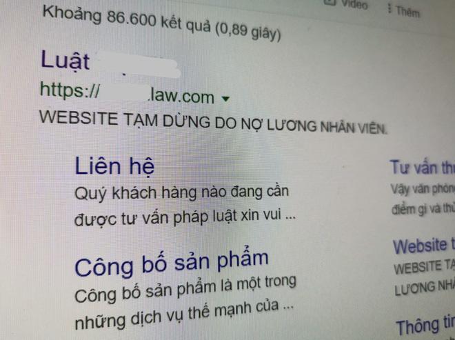 Nợ lương nhân viên IT, công ty bị khóa luôn website? - Ảnh 1.