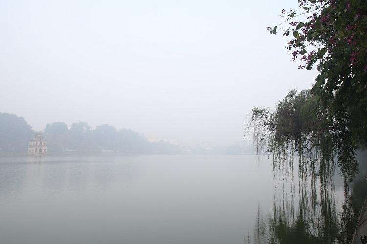 Sương mù duy trì đến giữa tuần sau - Ảnh 1.