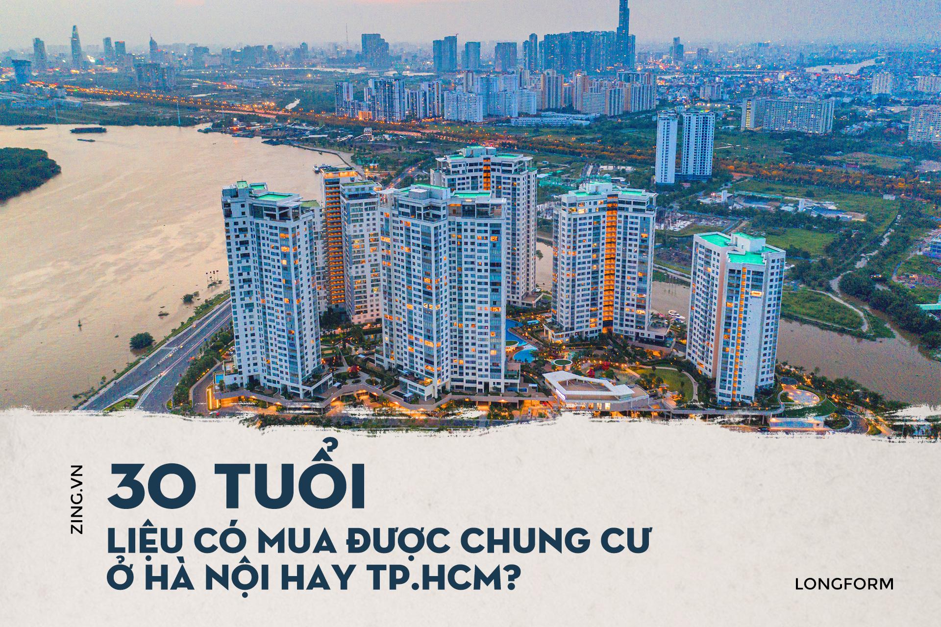 Mua nhà trước 30 tuổi ở TP HCM, Hà Nội, giấc mơ có xa vời? - Ảnh 1.