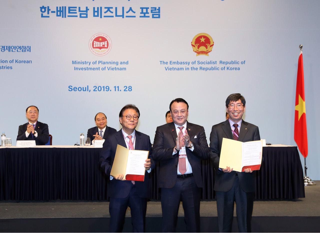 Tập đoàn Tân Hoàng Minh bắt tay với Hàn Quốc xây dựng khu đô thị thông minh trị giá 3,5 tỉ USD tại Chương Mỹ - Ảnh 1.