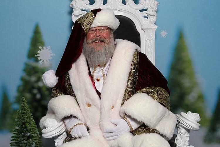 Muôn vẻ 'nghề ông già Noel' ở Mỹ - Ảnh 2.