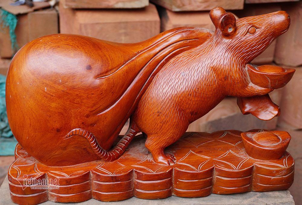 Canh Tí 2020, tròn mắt thấy con chuột khổng lồ nặng 10 kg - Ảnh 5.
