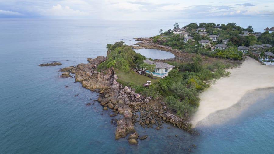 Hòn đảo tư nhân sang chảnh nhất Thái Lan - Ảnh 4.