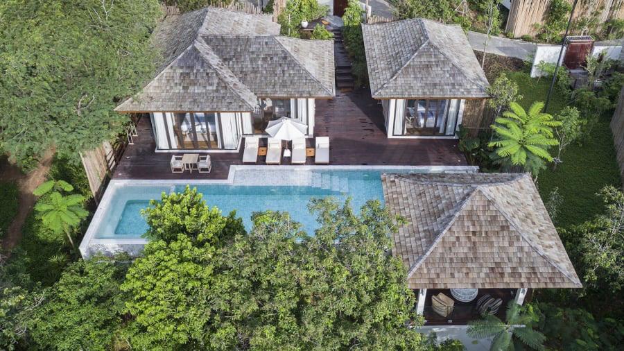 Hòn đảo tư nhân sang chảnh nhất Thái Lan - Ảnh 7.