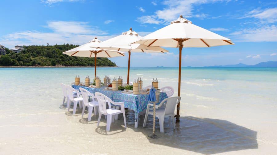 Hòn đảo tư nhân sang chảnh nhất Thái Lan - Ảnh 8.
