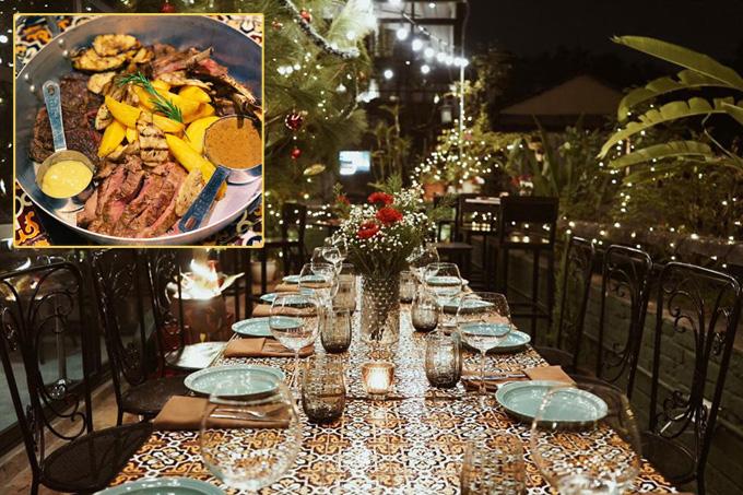 Địa chỉ cuối tuần: 3 nhà hàng đồ Âu ấm cúng đêm Noel - Ảnh 2.