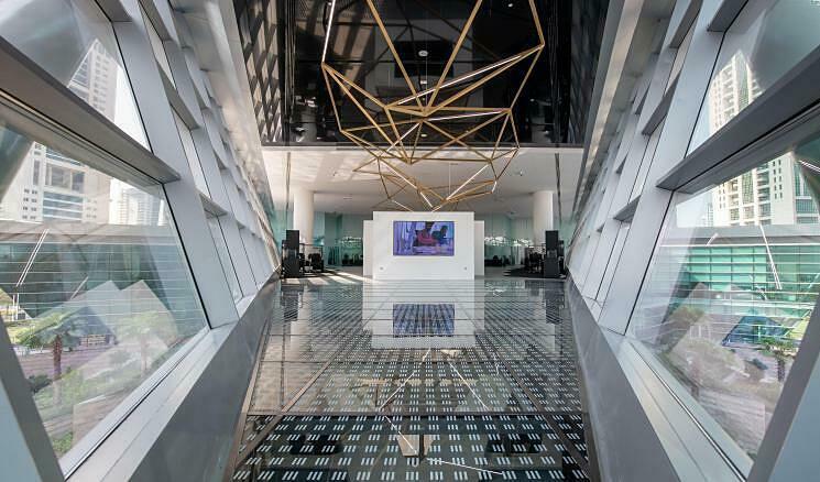 Sàn giao dịch kim cương lớn nhất thế giới ở Dubai - Ảnh 1.
