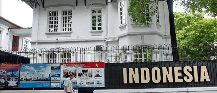 Thông tin về địa chỉ, giờ làm việc của Tổng Lãnh sự quán và Đại sứ quán Indonesia tại Việt Nam - Ảnh 1.