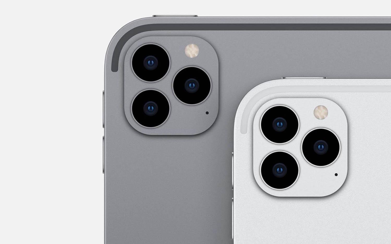 Rò rỉ thiết kế Apple iPad Pro 2020 với cụm 3 camera như iPhone 11 Pro - Ảnh 3.