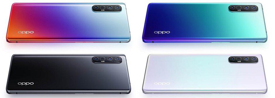 Oppo ra mắt điện thoại 5G giá rẻ Reno 3, không còn 'vây cá mập' - Ảnh 1.