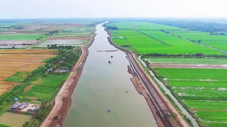 5 dự án chống hạn mặn ở miền Tây - Ảnh 1.