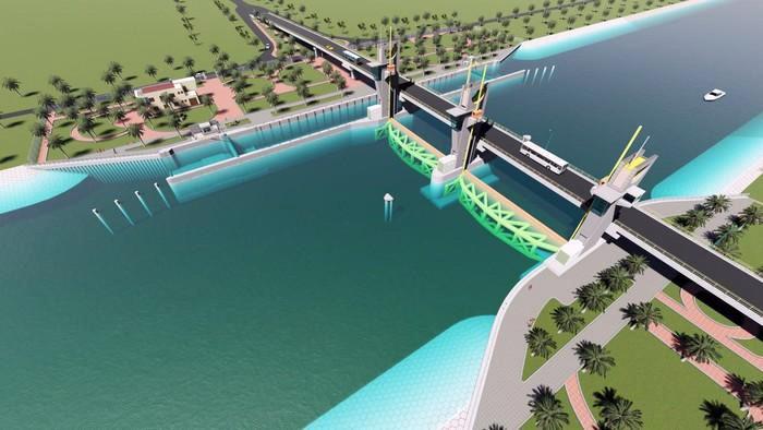 5 dự án chống hạn mặn ở miền Tây - Ảnh 3.