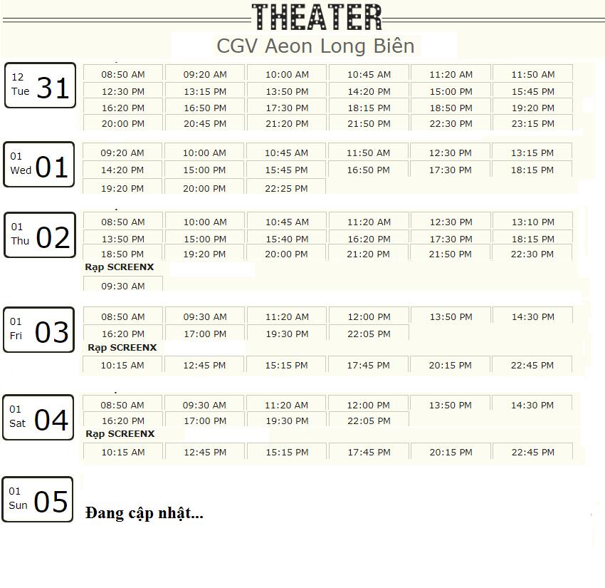 Lịch chiếu phim 'Mắt Biếc' tuần này tại một số rạp CGV Hà Nội - Ảnh 6.
