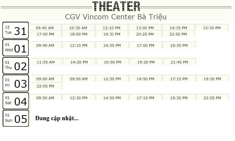 Lịch chiếu phim 'Mắt Biếc' tuần này tại một số rạp CGV Hà Nội - Ảnh 2.
