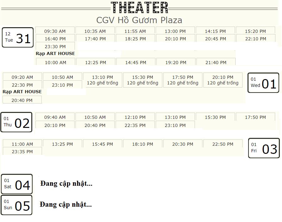 Lịch chiếu phim 'Mắt Biếc' tuần này tại một số rạp CGV Hà Nội - Ảnh 4.