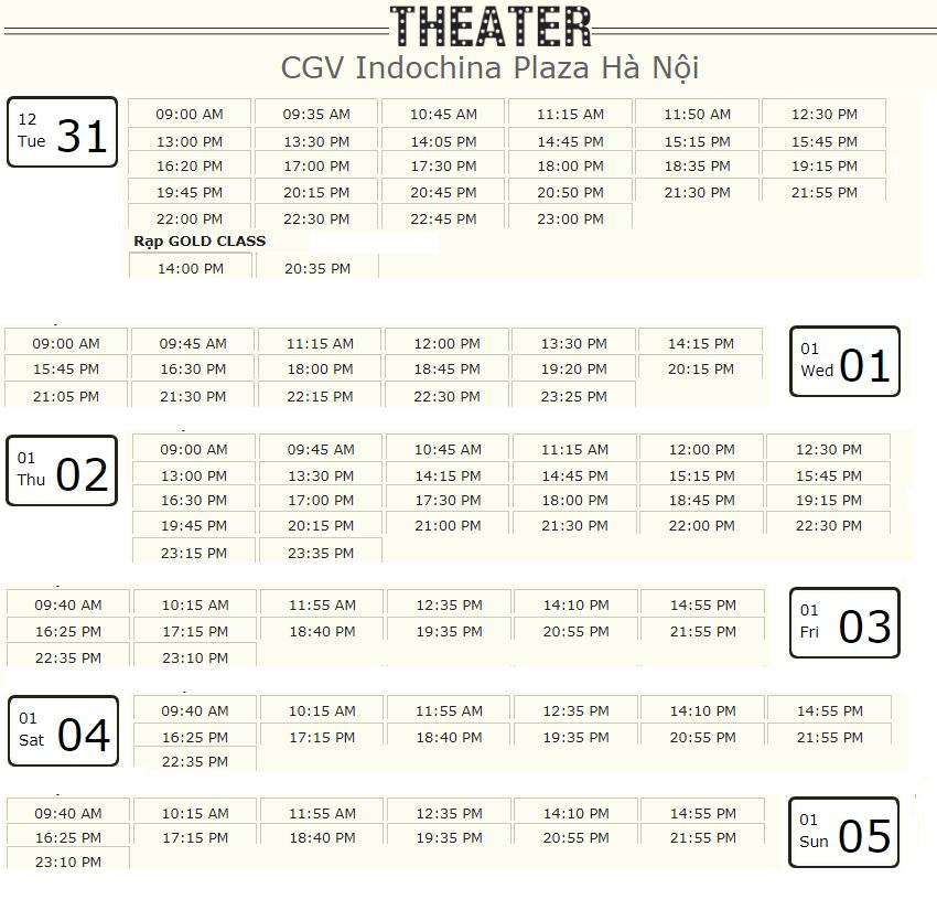 Lịch chiếu phim 'Mắt Biếc' tuần này tại một số rạp CGV Hà Nội - Ảnh 5.