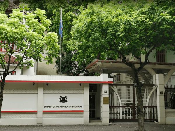 Thông tin về địa chỉ, giờ làm việc của Tổng lãnh sự quán và Đại sứ quán Singapore tại Việt Nam - Ảnh 3.