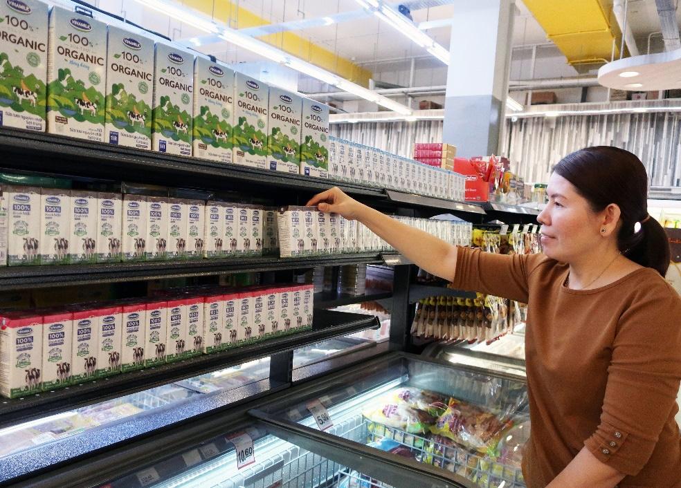 Sữa tươi Organic của Vinamilk dành được cảm tình của người dân 'đảo quốc sư tử' - Ảnh 1.