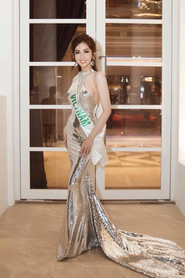 Nhật Hà thu hút truyền thông Thái Lan tại Hoa hậu chuyển giới quốc tế 2019  - Ảnh 2.