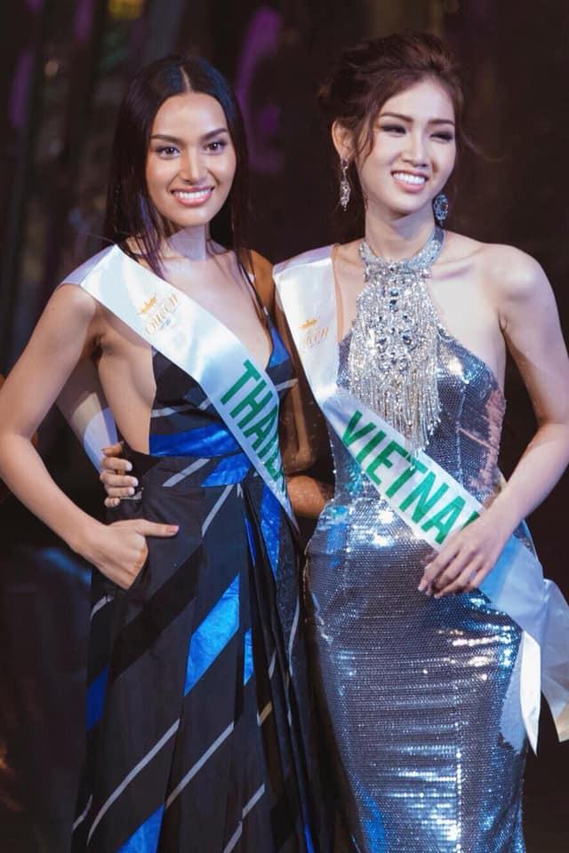 Nhật Hà thu hút truyền thông Thái Lan tại Hoa hậu chuyển giới quốc tế 2019  - Ảnh 3.