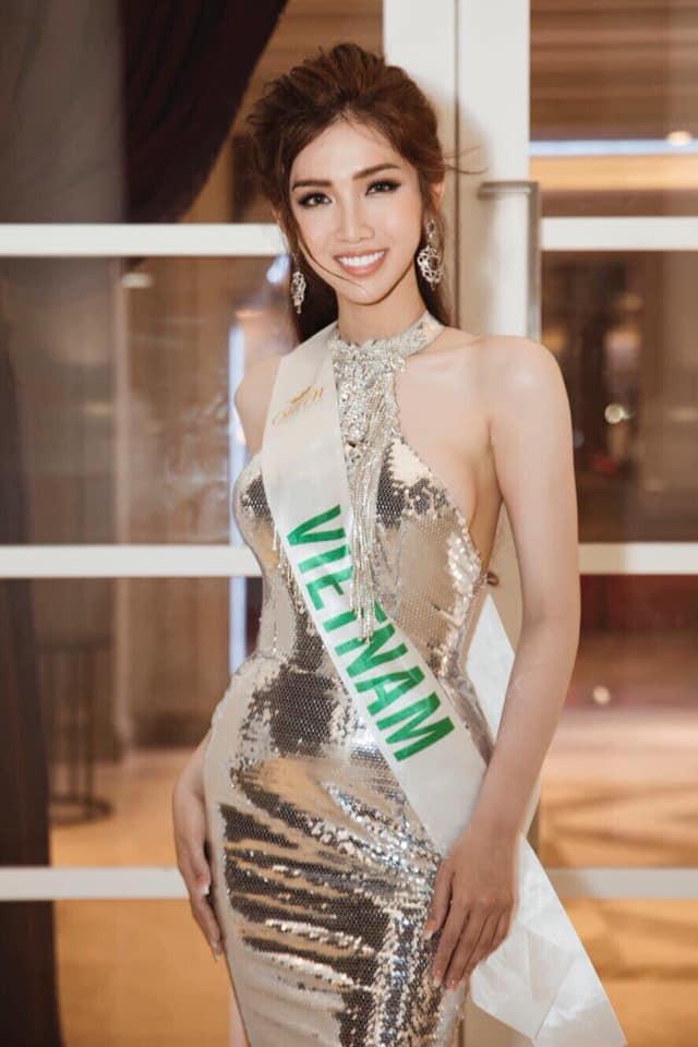 Nhật Hà thu hút truyền thông Thái Lan tại Hoa hậu chuyển giới quốc tế 2019  - Ảnh 1.