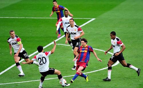 Man Utd chỉ thắng Barca một trận trong tám cuộc chạm trán - Ảnh 1.