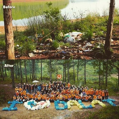 Giới trẻ Việt Nam hưởng ứng trào lưu dọn rác: Khi việc sống ảo trở nên có ý nghĩa - Ảnh 3.