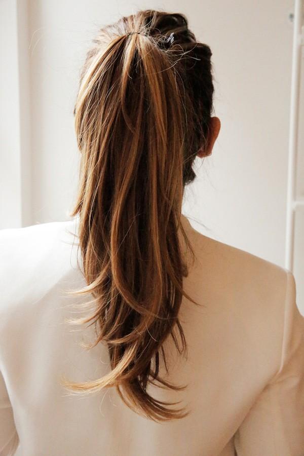 Buộc tóc đuôi ngựa như nào cho sang chảnh như Yoo In Na trong 'Chạm Vào Tim Em' và nàng thư ký Kim trong 'Thư Ký Kim Sao Thế' - Ảnh 15.