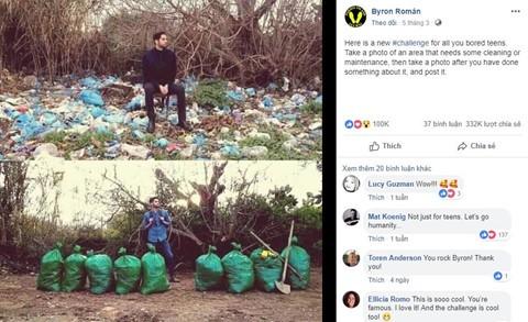 Người lan tỏa trào lưu dọn rác: 'Các bạn Việt Nam nhắn tin cảm ơn tôi - Ảnh 2.