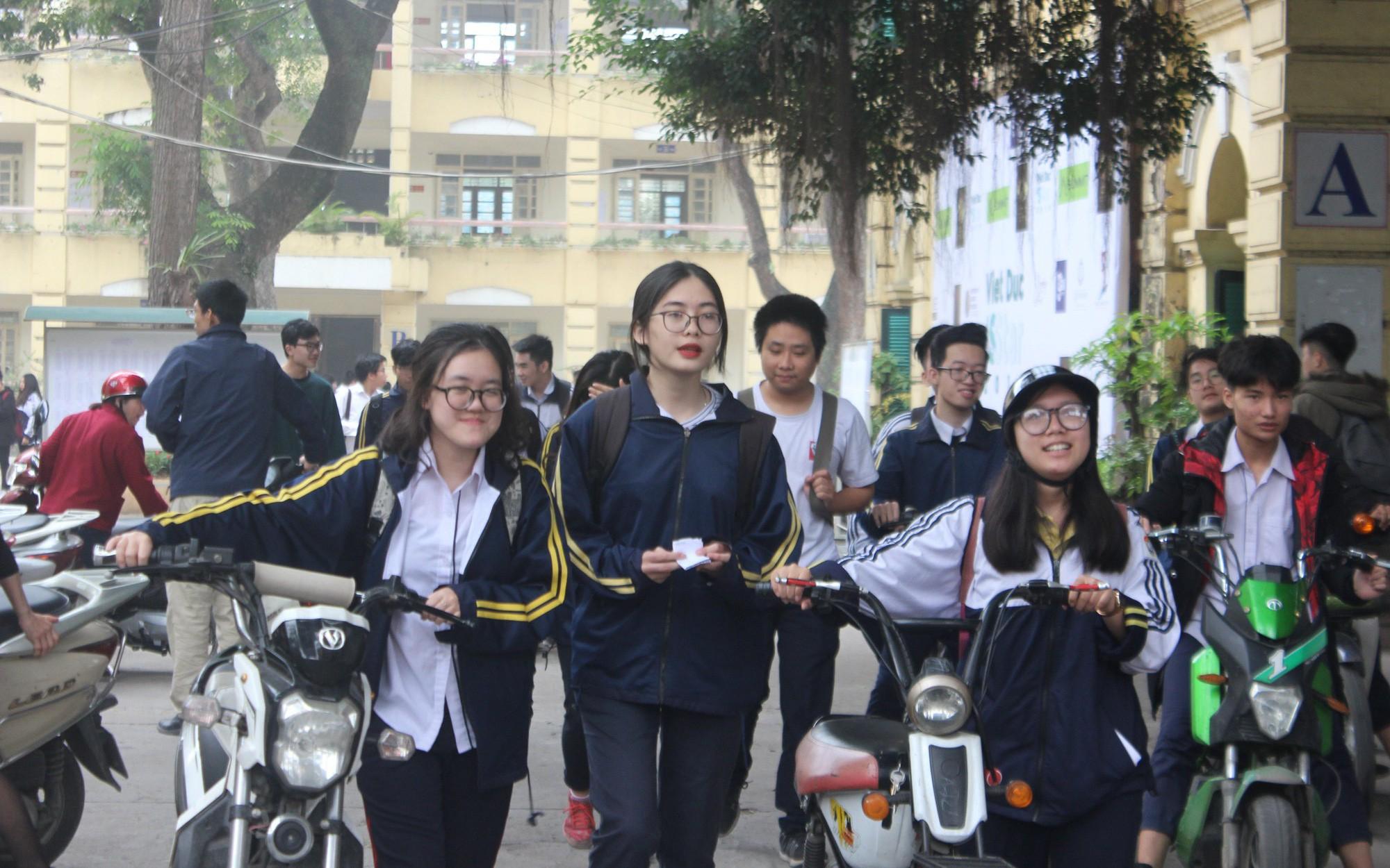 Gợi ý đáp án đề thi khảo sát môn Toán lớp 12 tại Hà Nội năm 2019