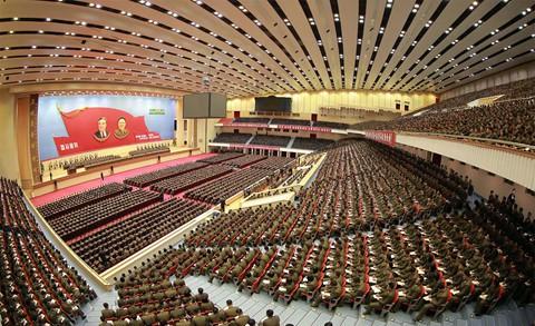 Ông Kim Jong Un phát biểu, quân nhân vừa ghi chép vừa khóc - Ảnh 4.