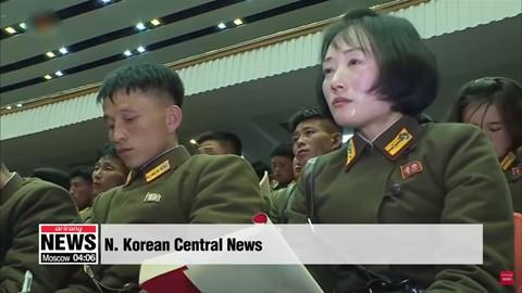 Ông Kim Jong Un phát biểu, quân nhân vừa ghi chép vừa khóc - Ảnh 5.