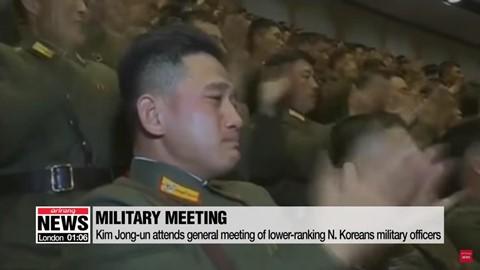 Ông Kim Jong Un phát biểu, quân nhân vừa ghi chép vừa khóc - Ảnh 7.