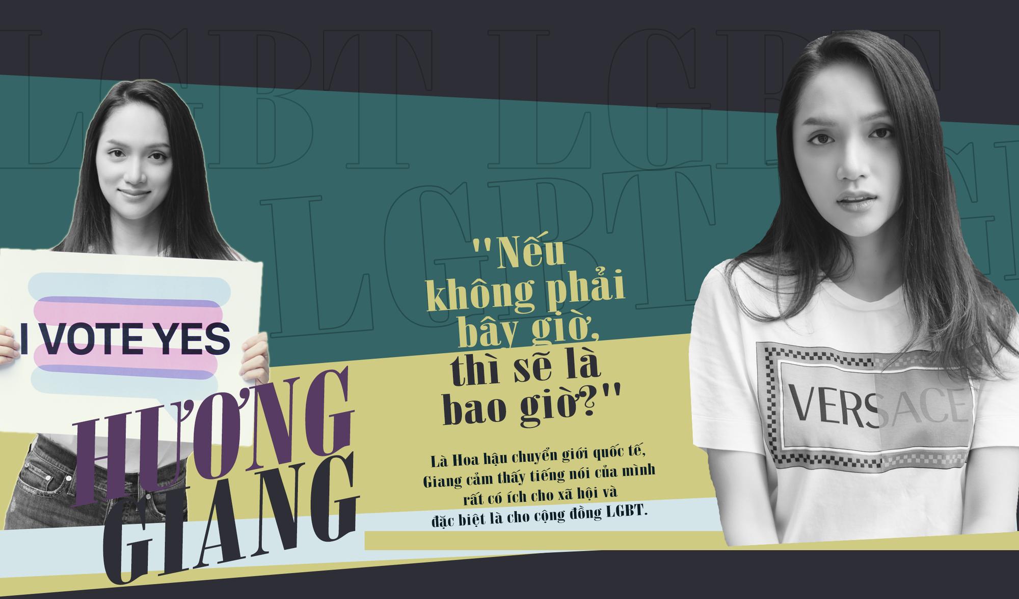 Hoa hậu Hương Giang: 'Tôi tha thiết mong cộng đồng LGBT cùng lên tiếng thúc đẩy quyền của người chuyển giới' - Ảnh 6.